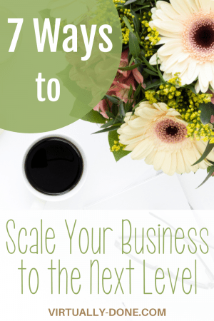 Strategies to help you move your business past any blocks it might have encountered and scale it up to the next level. #scale #smallbusiness