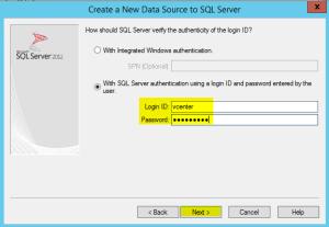 13 ODBC SQL Creds