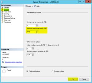 6 SQL Memory Settings