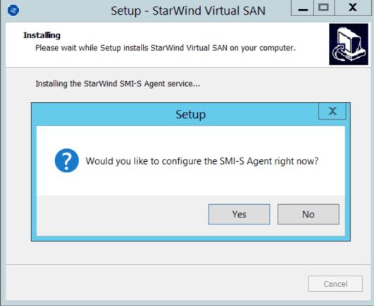 9 Configure SMI-S Agent