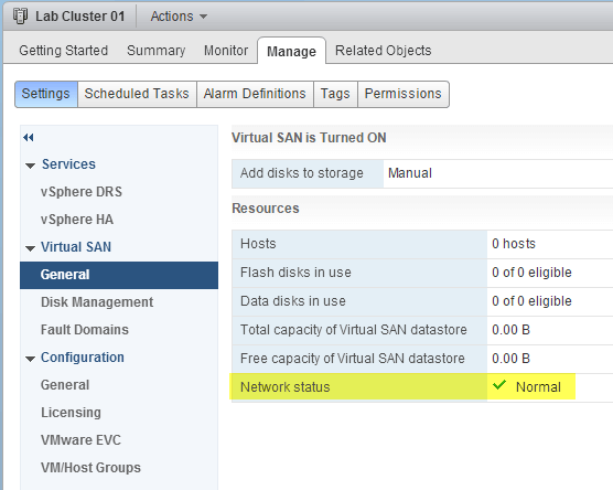 11 VSAN - VSAN enabled