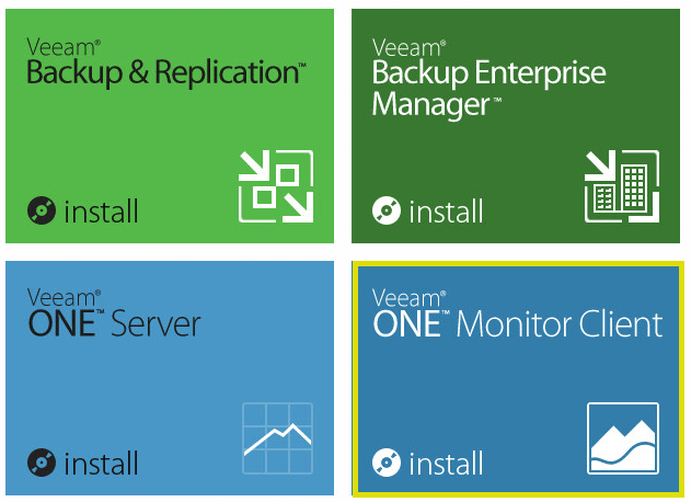 Veeam ONE 22 - Veeam ONE Monitor Client