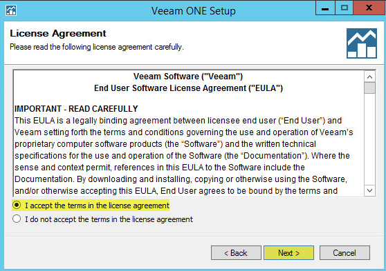 Veeam ONE 4 - License Agreement