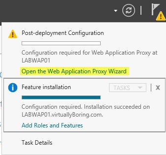 WAP Configuration 11 - Post-Deployment Configuration