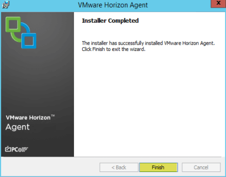 Add RDS Server to View 7 - 9 Installer Completed