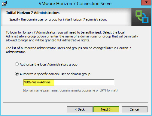VMware Horizon View 7: Deployment and Installation [Part 1