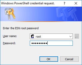 PS Add Hosts to vCenter 2 - Credential Request