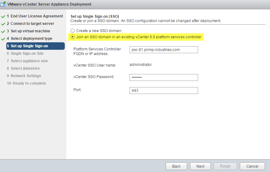 How to automatically repoint & failover VCSA to another replicated