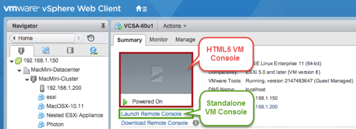How to restrict access to both the Standalone VMRC & HTML5