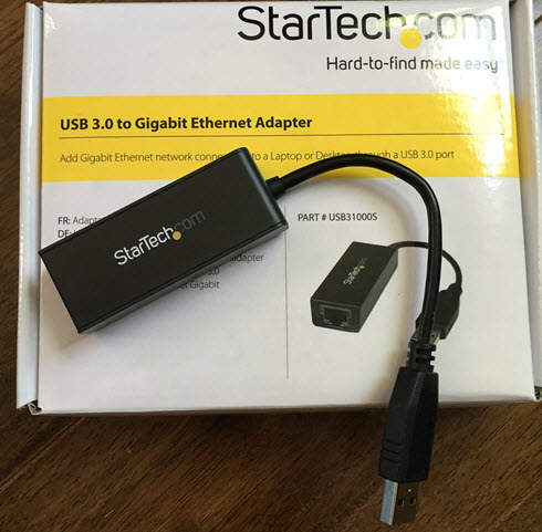 Working USB Ethernet Adapter (NIC) for ESXi