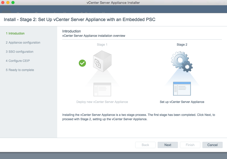 How to deploy the vCenter Server Appliance (VCSA) 6 5 running on