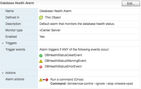 vcdb-space-utilization-vcenter-alarms-0