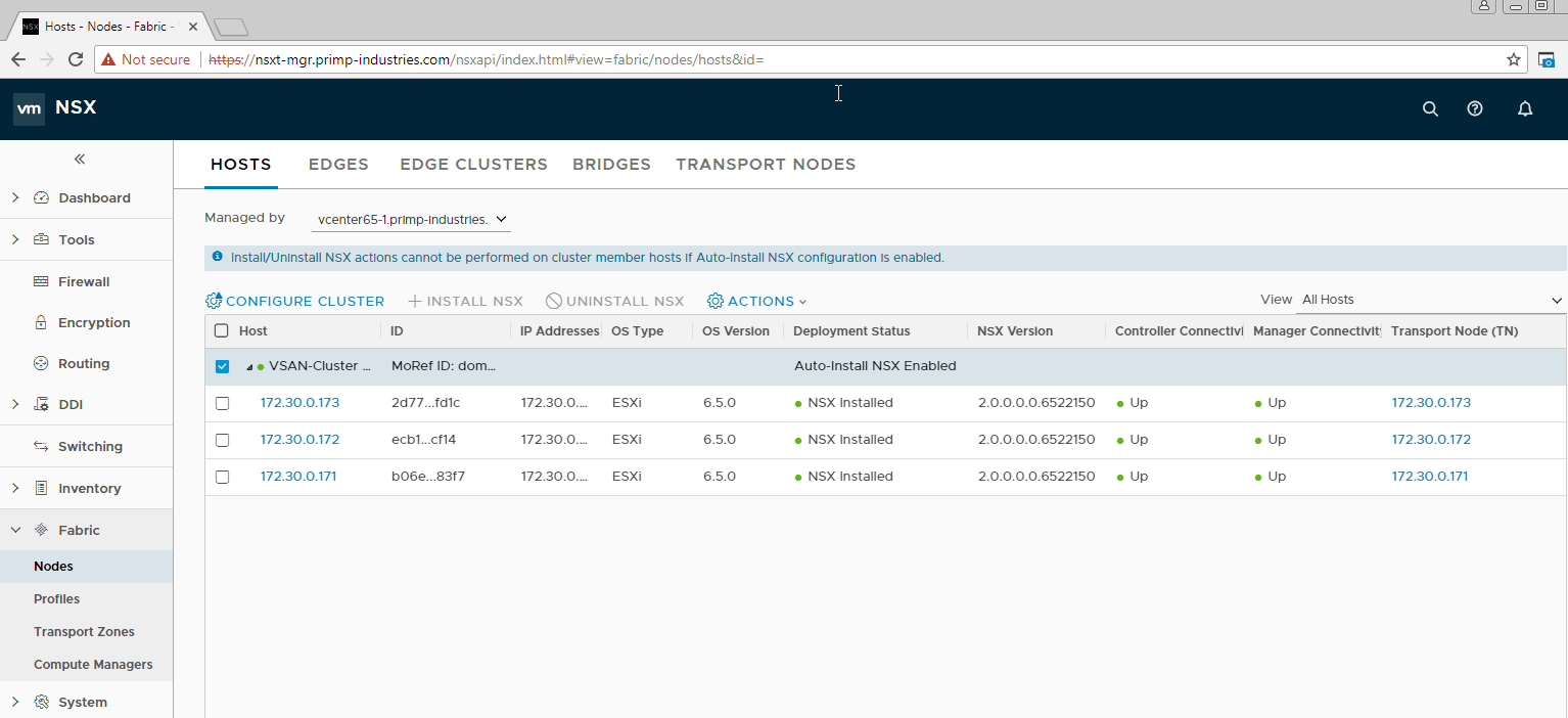 Vghetto Automated Nsx T 20 Lab Deployment Setting Up A Virtual 3 Way Switch My Home Automation Project Obviously I Have Only Scratched The Surface Of And Its Capabilities While Is Fairly Basic It Does Enable Customers To