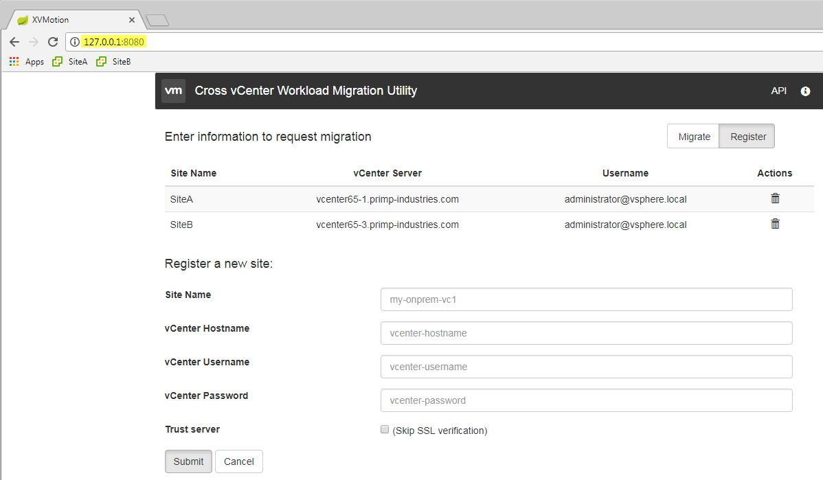 Bulk VM Migration using new Cross vCenter vMotion Utility Fling