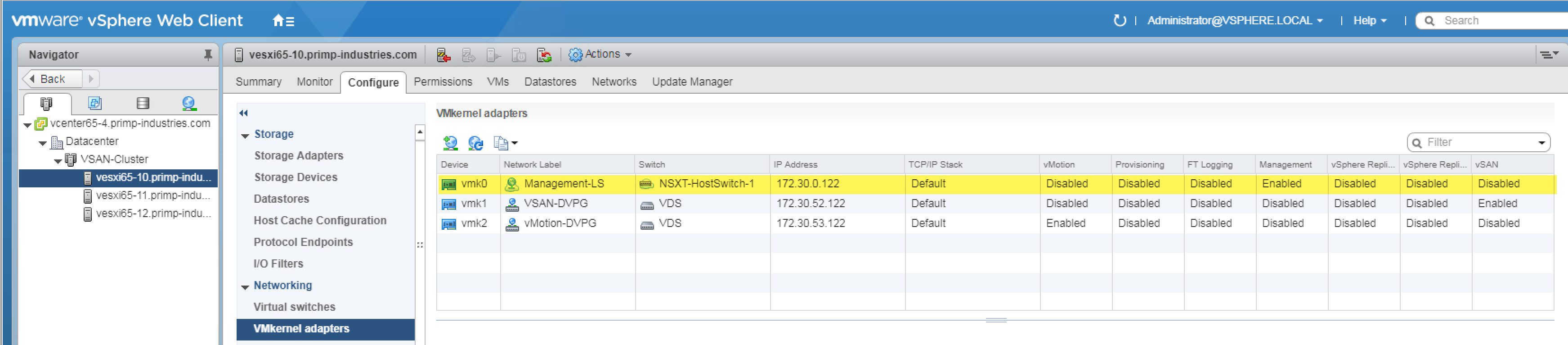 ESXi host with network redundancy using NSX-T and only 2 pNICs?