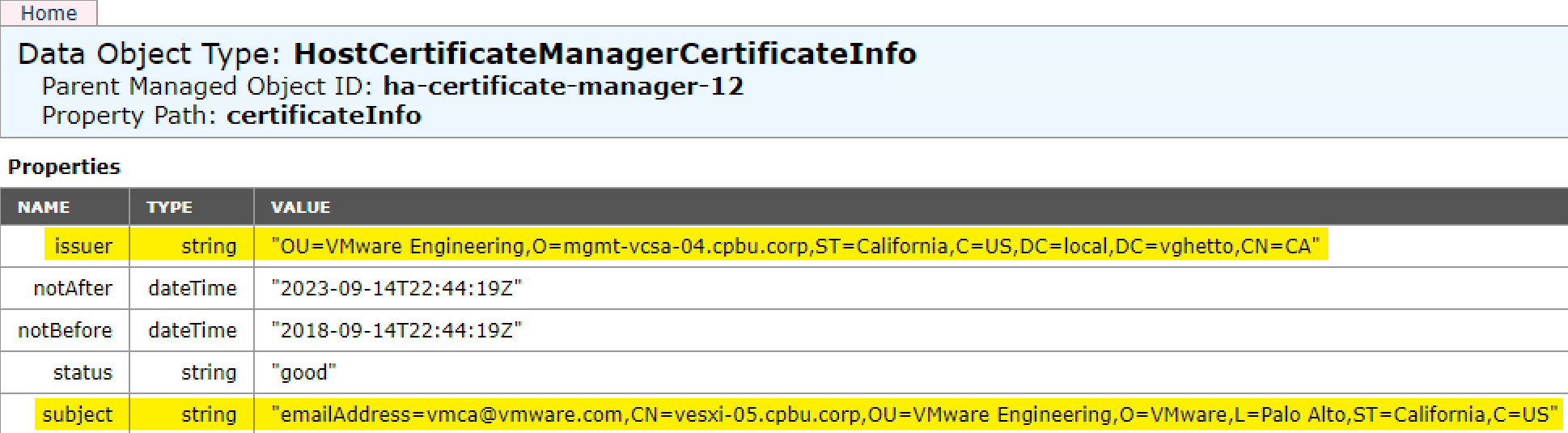 Is Vcenter Server Esxi Hosts Using Vmware Certificate Authority