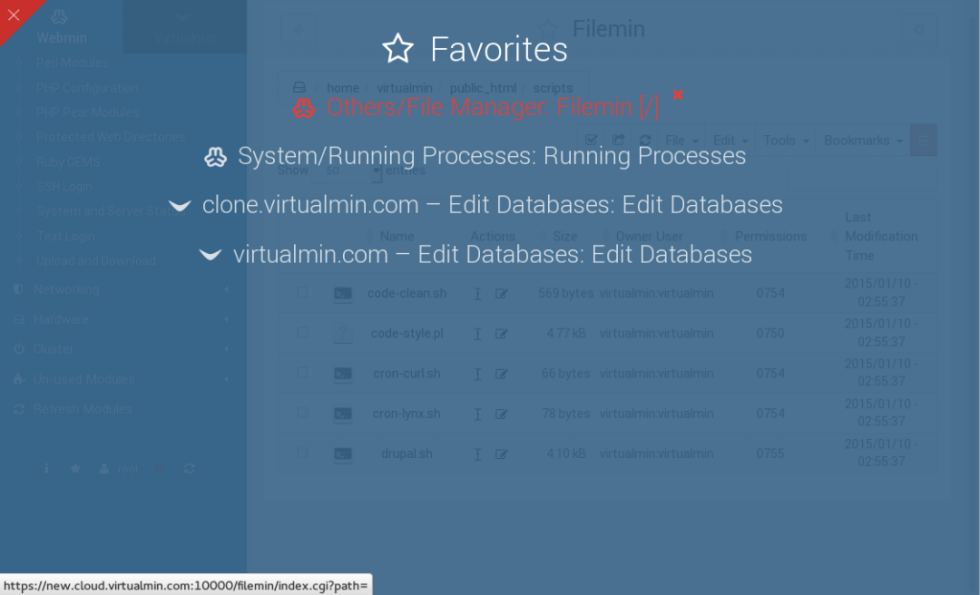 Authentic Theme Favorites feature