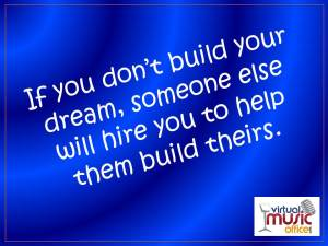 Quote If you don't build your dream