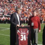 Copenhaver honored for 34 years service as Director of Bands at the University of South Carolina