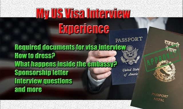 US Visa Interview Experience | Interview Questions | How to