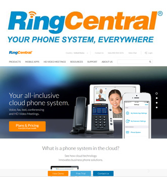 RingCentral Full Review | Virtual Hosted PBX Phone Systems