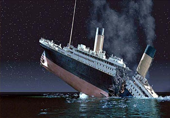 Did God sink the Titanic?