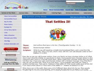 Sermons 4 Kids