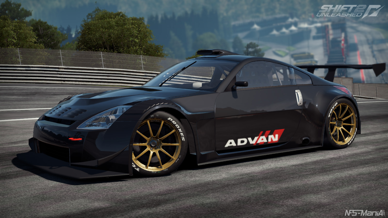Need For Speed World Cars Wallpaper Need For Speed Shift 2 Nissan Previews Virtualr Net