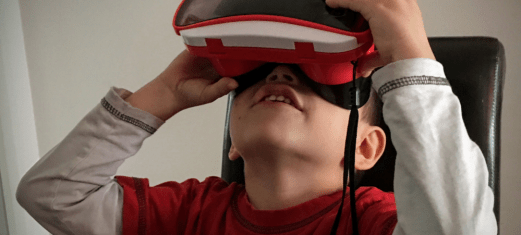 Virtual Reality world Kids