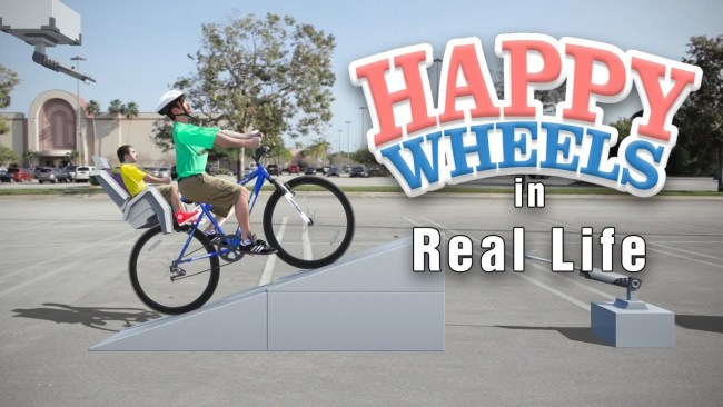 happy wheels in real life