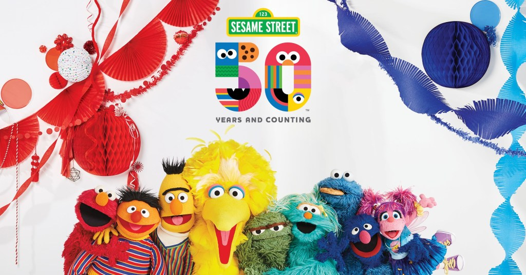 Sesame Street 50th Anniversary 1