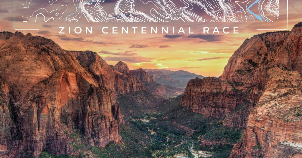 Zion National Park Centennial Virtual Race 1
