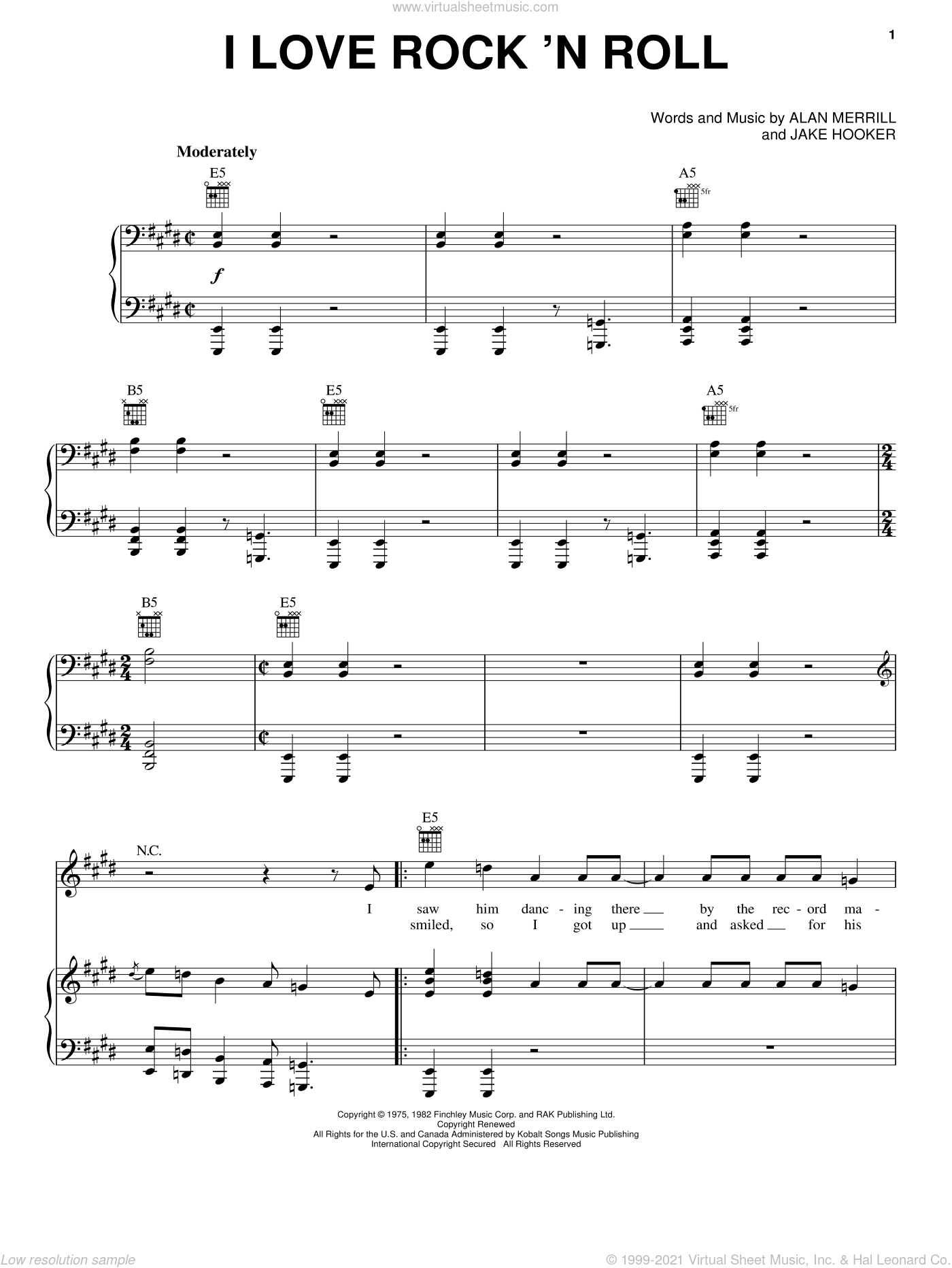 Free Bass Sheet Music Rock