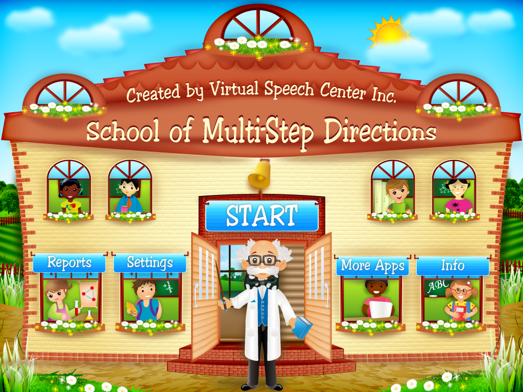 School Of Multi Step Directions App