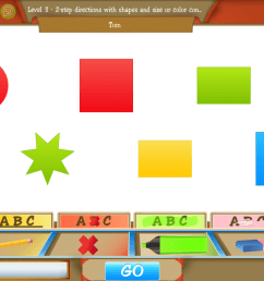 School of Multi-Step Directions App [ 768 x 1024 Pixel ]