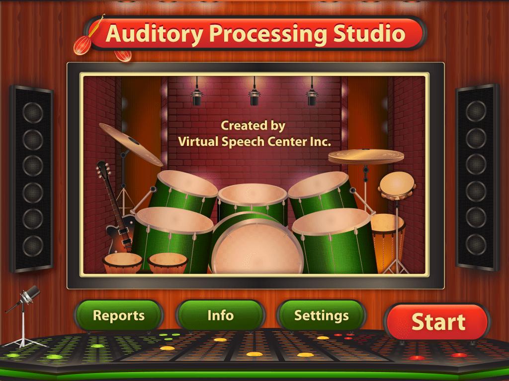 Auditory Processing Studio App