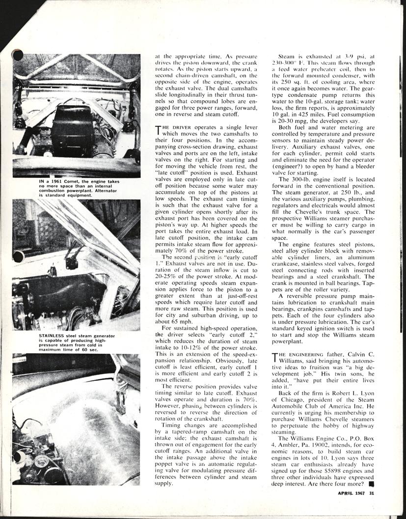 Williams Engine Company, Inc.