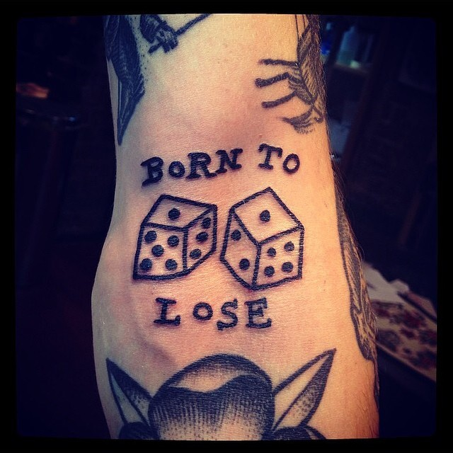 Born To Lose Tattoo