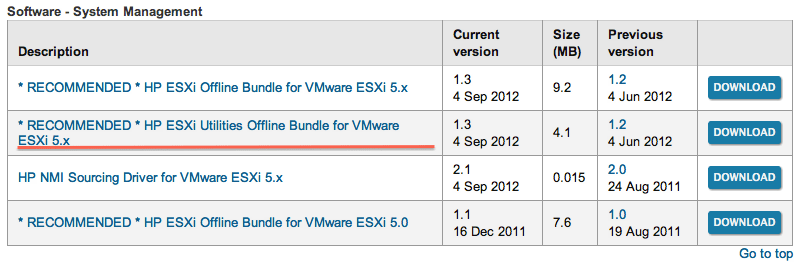 Manage an HP Smart Array directly from VMware ESXi - Virtual