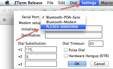 Mac Bluetooth Serial Terminal