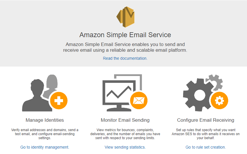 Using AWS Simple Email Service (SES) as an SMTP relay for