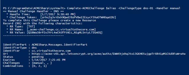 Improved Powershell script for Let's Encrypt certificate