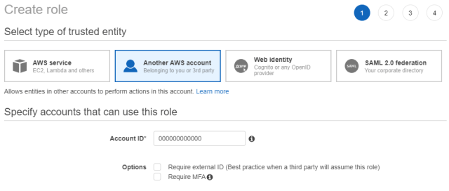 Protect external AWS accounts with Veeam N2WS Backup