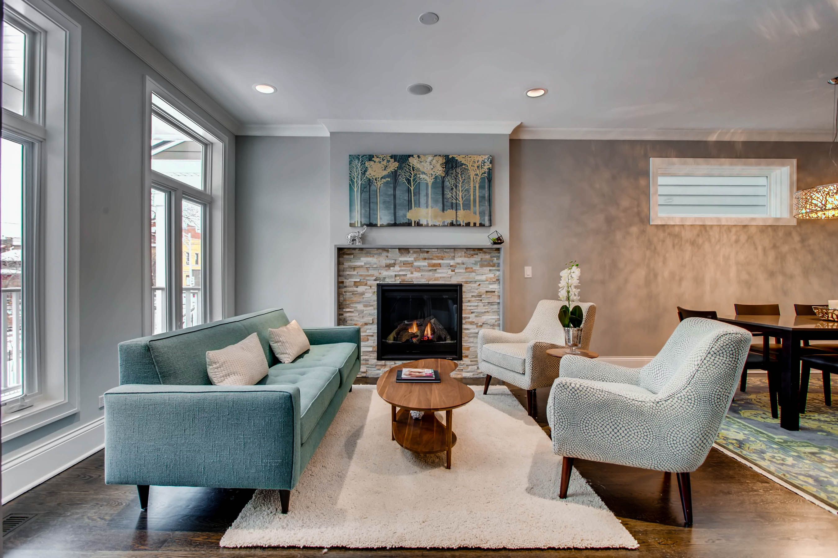 Does your home staging look too sterile Warm things up