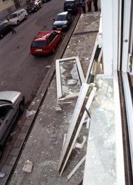 Gasexplosion Augustenstraße 28.4.2005