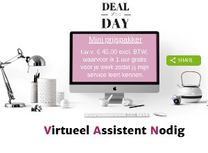 aanbieding deal of the day mini prijspakker