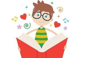 jongen met boek