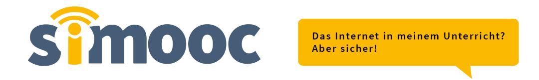 MOOC: Das Internet in meinem Unterricht? Aber sicher! Logo: CC-BY Lene Kieberl