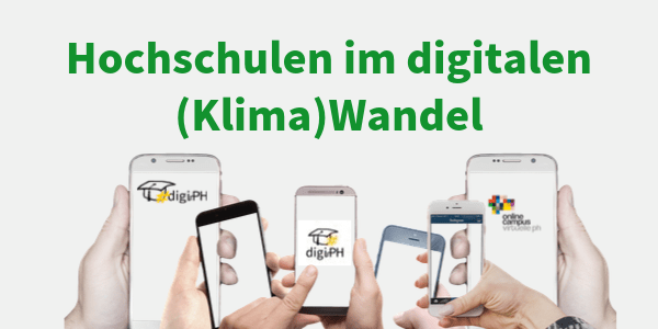 Save the date: Online-Tagung #digiPH3 | 09.03.2020 bis 05.04.2020