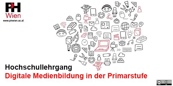 © Katharina Mittlböck & Caroline Grabensteiner, ZLI PH Wien | Logo © PH Wien